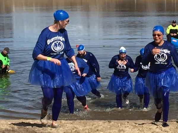 Cally O'Donnell - Special Olympics Polar Plunge