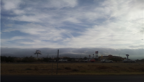 El Paso without mountains. November 22,2013.