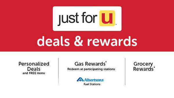 just for U deals and rewards. Earn Gas, Grocery and J4U Rewards