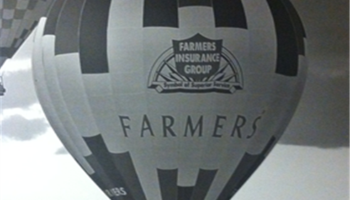 Farmers® balloon picture.
