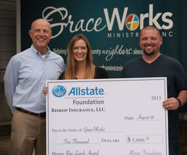 Calvin Bishop - Allstate Foundation Helping Hands Grant for GraceWorks Ministries