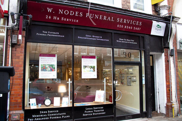 W Nodes Funeral Directors in Crouch End