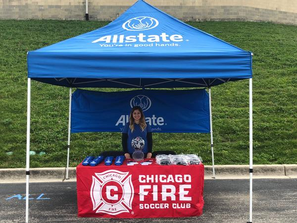 Elizabeth (Lisa) Jusino - Fun and Futbol with Chicago Fire