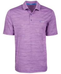 Image of Attack Life by Greg Norman Men's 5 Iron Space-Dye Performance Golf Polo, Created for Macy's