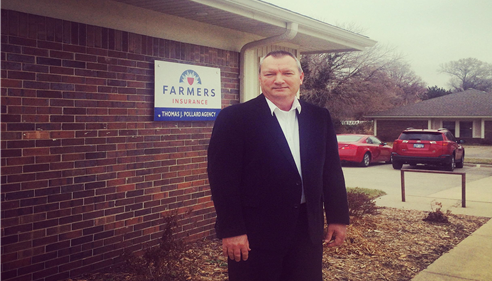 Tom, Agency Owner. Stop in for a visit, 3200 Mesa Way, Suite D, Lawrence, KS.