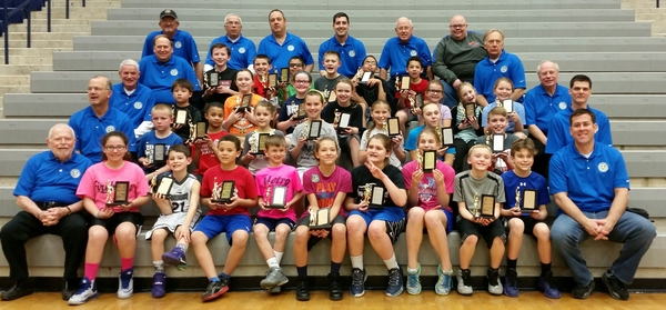 Dor-Wood Optimist Tri-Star Basketball