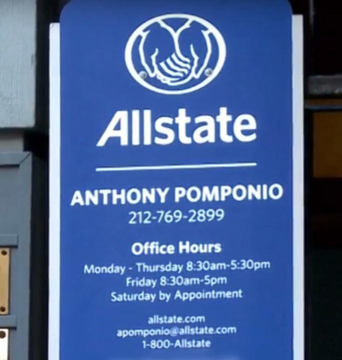 Allstate Quote Get An Allstate Auto Insurance Quote  Anthony Pomponio New York Ny