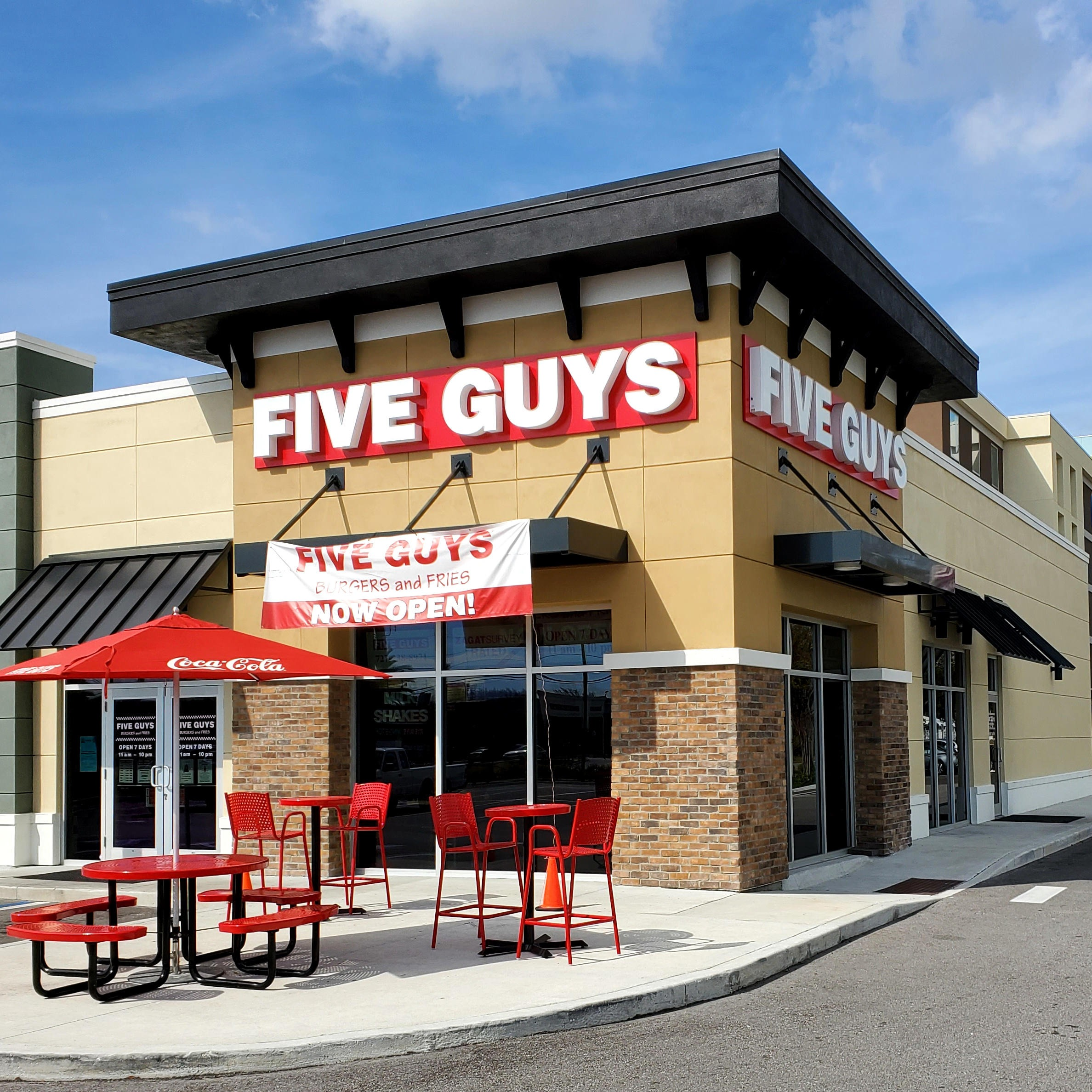 Five Guys at 10125 Ulmerton Rd. in Largo, FL.
