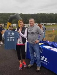 Chantilly, VA Car Insurance agent, Michael Angles, supporting a run helping NVFS