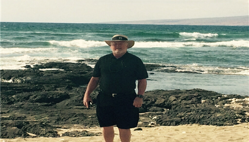 Larry in Hawaii, President's Council 2015.