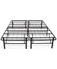 Image of Sleep Trends Hercules Twin 14-Inch Platform Metal Bed Frame, Assembly Required, Quick Ship, Created