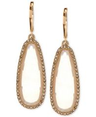 Image of lonna & lilly Large Stone Drop Earrings