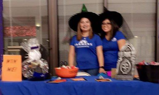 Ana Jaquez Agency at the Lets Play Halloween Event.