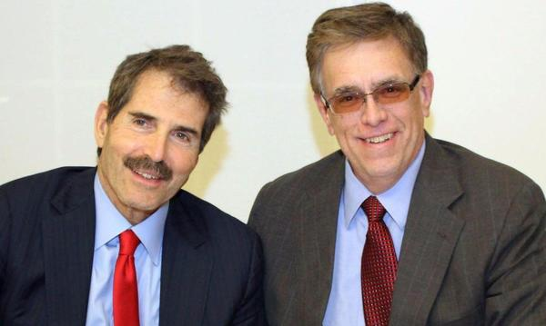 John Stossel and I discussing current affairs