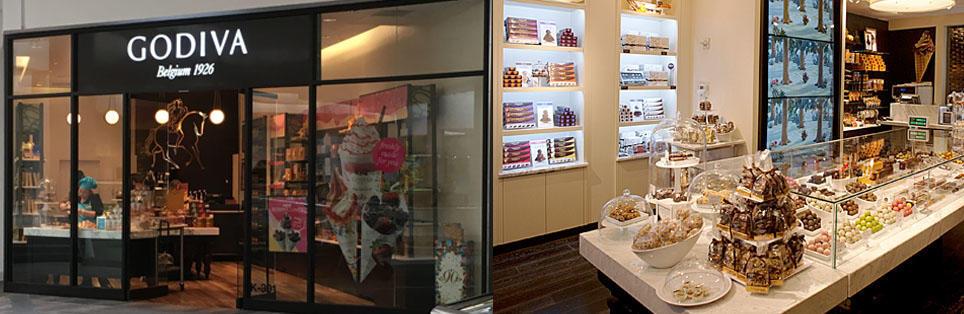 Godiva Woodfield Mall in Schaumburg, IL | Gourmet Chocolate