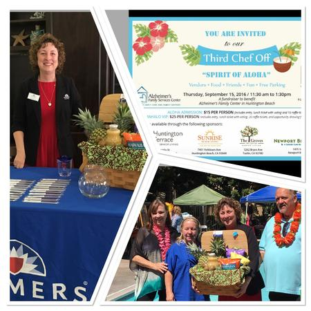 "Spirit of Aloha ""CHEF OFF"" raising funds for Alzheimer's research"