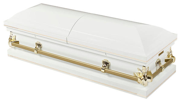 The Heavenly White from Our Casket Collection