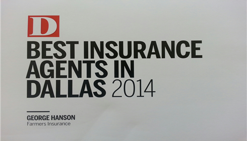 D Magazine Best Insurance Agents in Dallas 2014