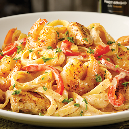 Photo of Cajun Shrimp & Chicken Pasta