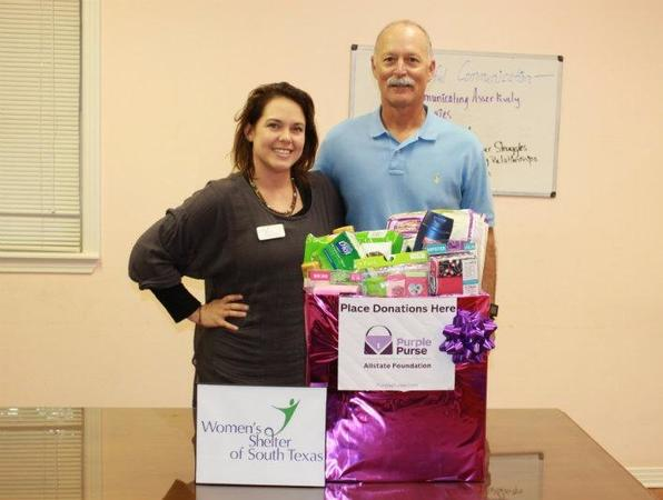 Dwayne Hargis - Supplies Donated to Women's Shelter of South Texas