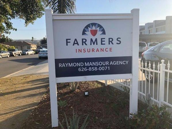 Image of Farmers sign outside