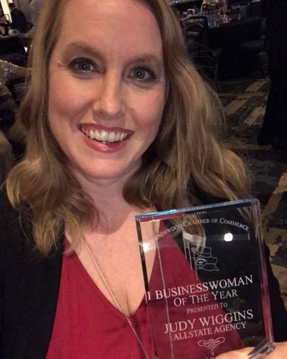 Judy Wiggins - 2018 Businesswoman of the Year
