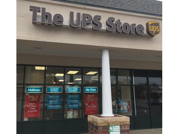 Facade of The UPS Store Walkertown