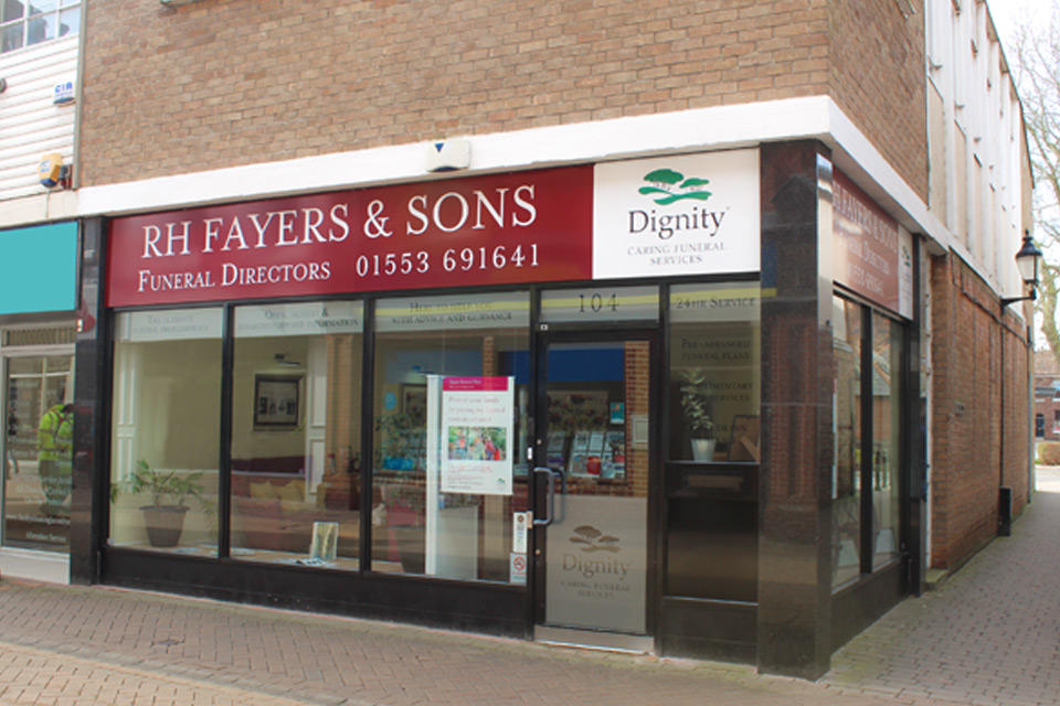 R H Fayers & Son Funeral Directors in King's Lynn