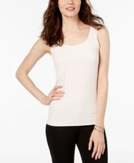Image of Alfani Scoop-Neck Basic Tank