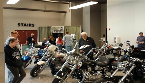Bike Show Booth