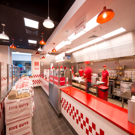 Five Guys Restaurant Burgers & Fries