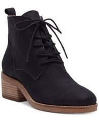 Image of Lucky Brand Tamela Lace-Up Booties