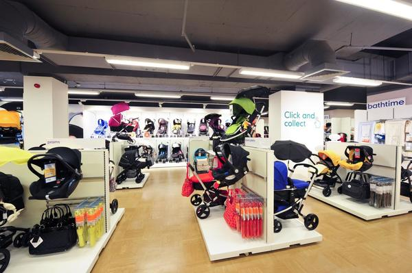 Mothercare St Enoch pushchairs