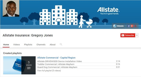 Gregory Jones - Gregory Jones YouTube Channel