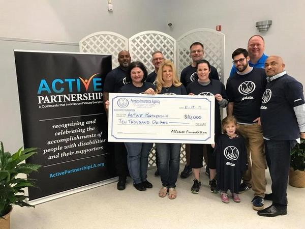 Stacy Lodrigues - Active Partnership Receives Allstate Foundation Helping Hands Grant