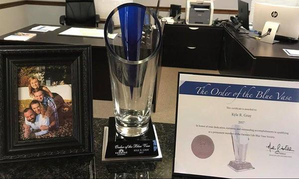 Blue Vase Award for Life Insurance