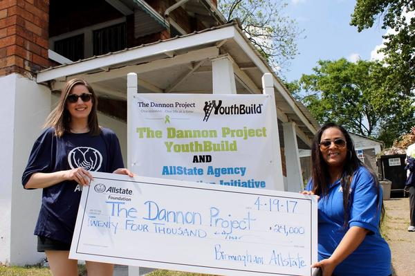 Alyson Sabatini - Allstate Foundation Helping Hands Grant Helps The Dannon Project