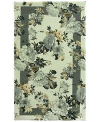"Image of Bacova Elegant Dimensions Cassandra Gray 20.0"" x 32.5"" Accent Rug"
