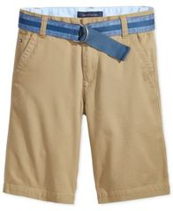 Image of Tommy Hilfiger Dagger Twill Shorts, Big Boys