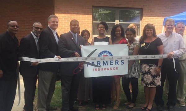 Farmers® Insurance Ribbon Cutting event at 111 W. Maple Ave, Mundelein, IL