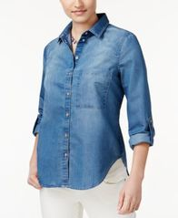 Image of Polly & Esther Juniors' Chambray Shirt