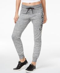 Image of Calvin Klein Performance Fleece Logo Joggers
