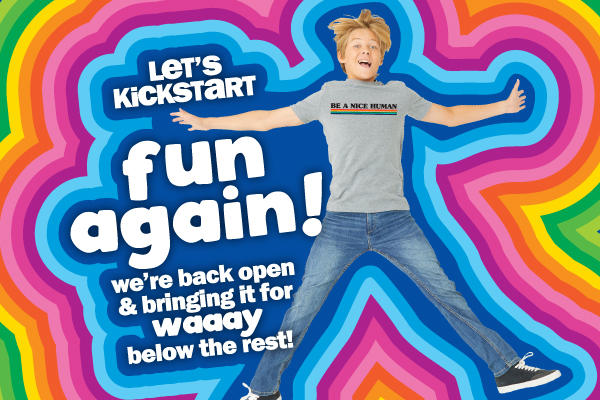 KICKSTART FUN AGAIN! WE'RE BACK OPEN & BRINING IT FOR WAAAY BELOW THE REST!