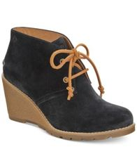 Image of Sperry Women's Celeste Prow Wedge Ankle Booties