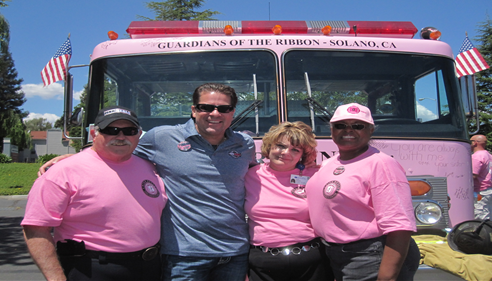 Pink Heals Solano County with Mike O'Brien,Dave Graybill, and Lynne Dimodica.