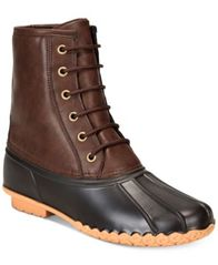 Image of Weatherproof Men's Adam Duck Boots
