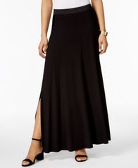 Image of ECI Side-Slit Maxi Skirt