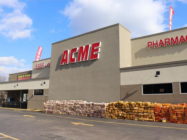 Acme Markets store front picture at 5927-59 Ridge Ave in Philadelphia PA