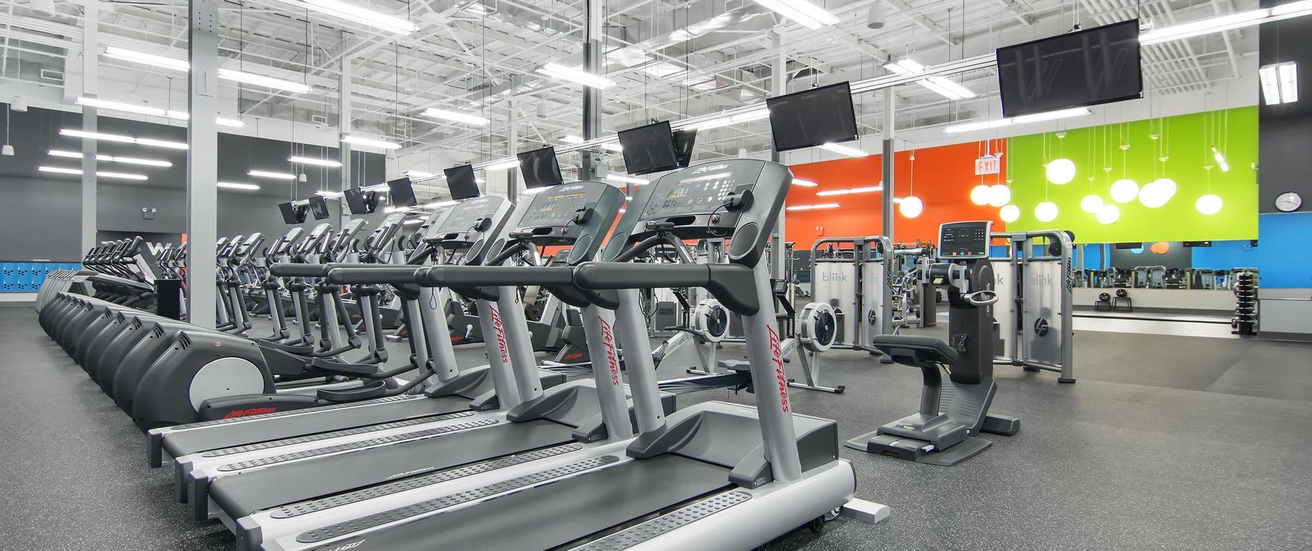 All Blink Fitness Gyms in NJ   cardio equipment, strength ...