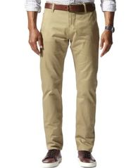Image of Dockers Men's Stretch Slim Tapered Fit Alpha Khaki Pants